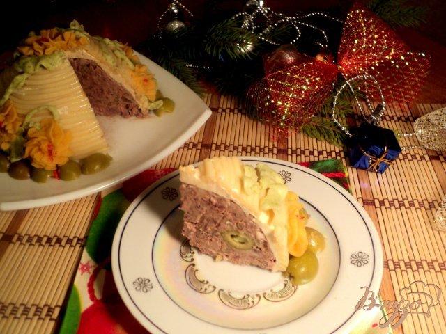 Фото приготовление рецепта: Паштет «Праздничный» шаг №12