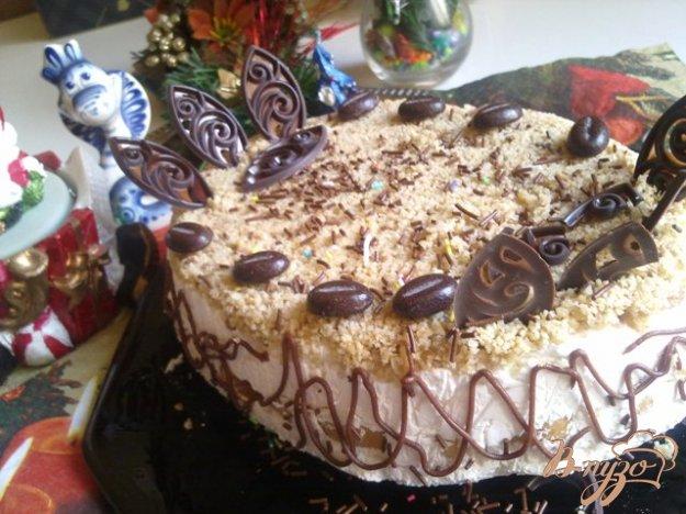 Рецепт Десертный тортик с творожным кремом