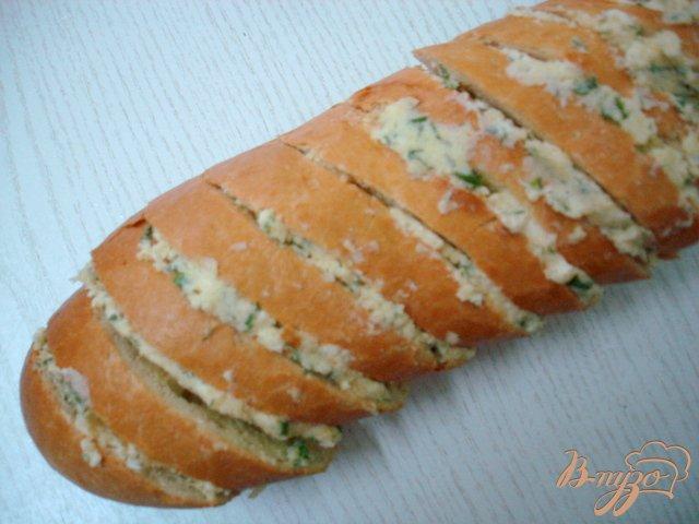 Фото приготовление рецепта: Багет фаршированный шаг №5