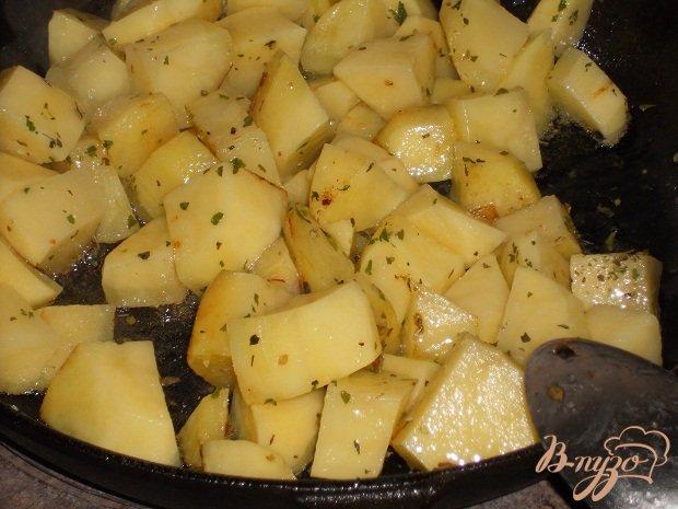 Фото приготовление рецепта: Гуляш овощной для лагмана шаг №7