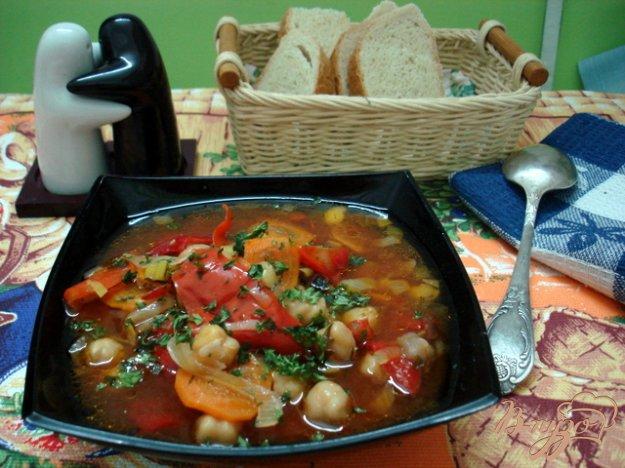 фото рецепта: Суп из турецкого горошка нута