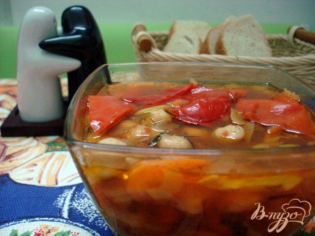 Фото приготовление рецепта: Суп из турецкого горошка нута шаг №6