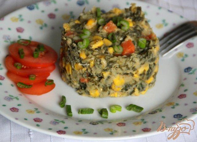 Фото приготовление рецепта: Фасолево-овощной террин шаг №8
