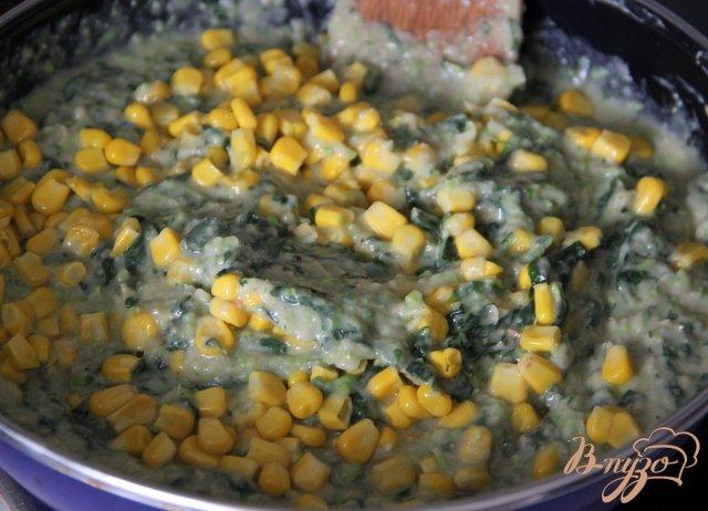 Фото приготовление рецепта: Фасолево-овощной террин шаг №5