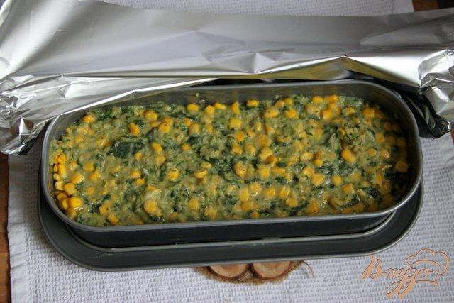 Фото приготовление рецепта: Фасолево-овощной террин шаг №7