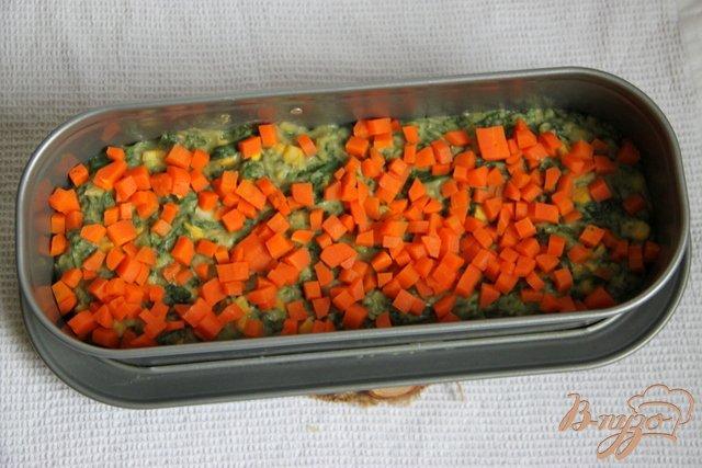 Фото приготовление рецепта: Фасолево-овощной террин шаг №6