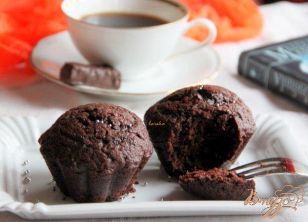 Рецепт Заварные шоколадные кексы