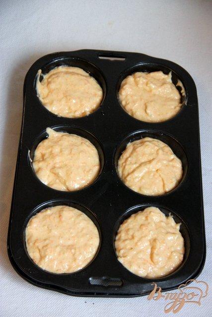 Пикантные тыквенно-сырные кексы