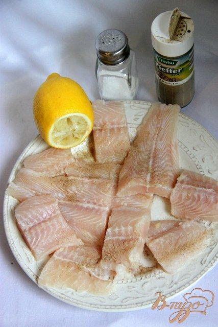 Запеканка из рыбы с грибами под белым соусом