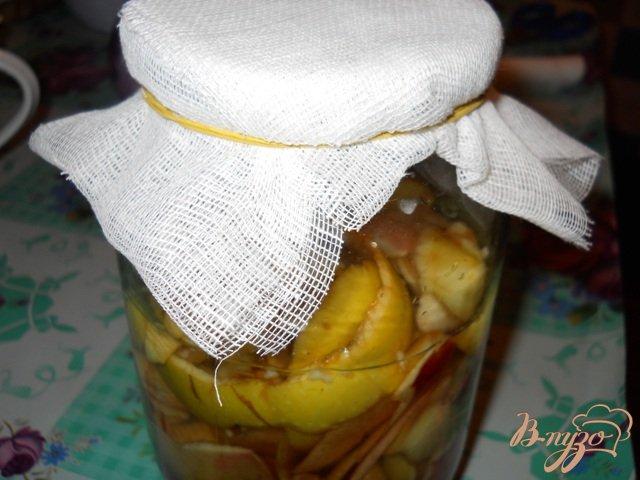 Фото приготовление рецепта: Укус яблочный домашний шаг №2