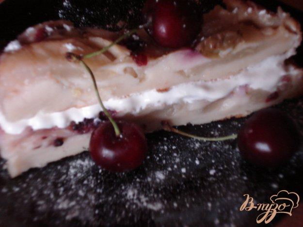 Рецепт Грушево-ягодный пирог без сахара