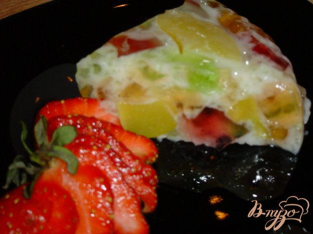Рецепт Желейно-персиковый тортик