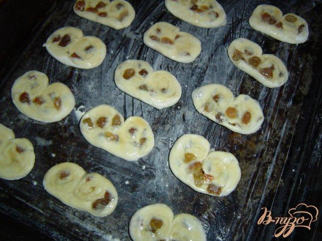 Фото приготовление рецепта: Слоеное печенье шаг №4