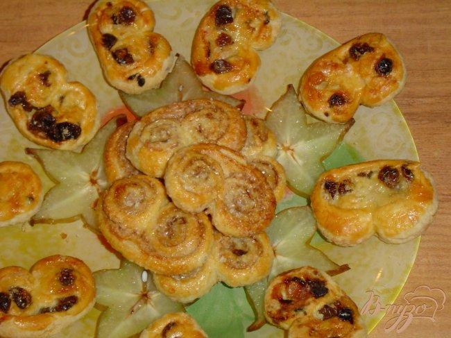 Фото приготовление рецепта: Слоеное печенье шаг №7