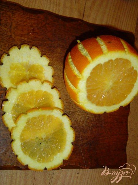 Фото приготовление рецепта: Куриные крылышки под апельсином шаг №5