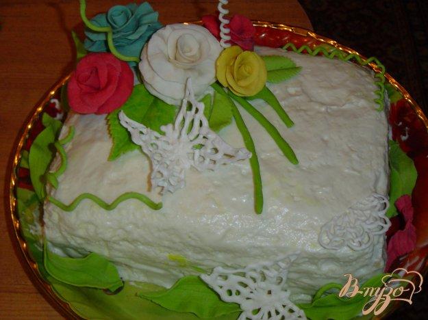 """Рецепт Торт """"Цветы для мамы"""""""