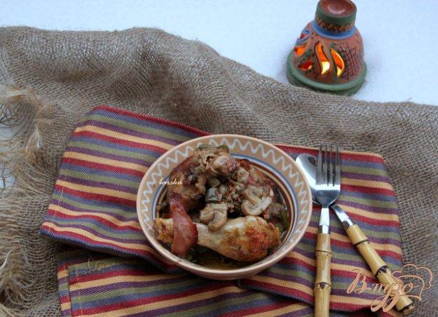 """Рецепт Курица """"Polo Al Greco"""""""