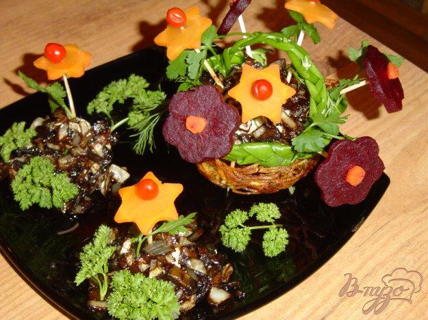 фото рецепта: Грибное рагу c вареными овощами