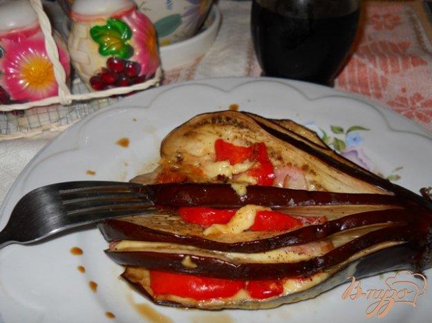 Рецепт Баклажаны запеченные с ветчиной и сыром