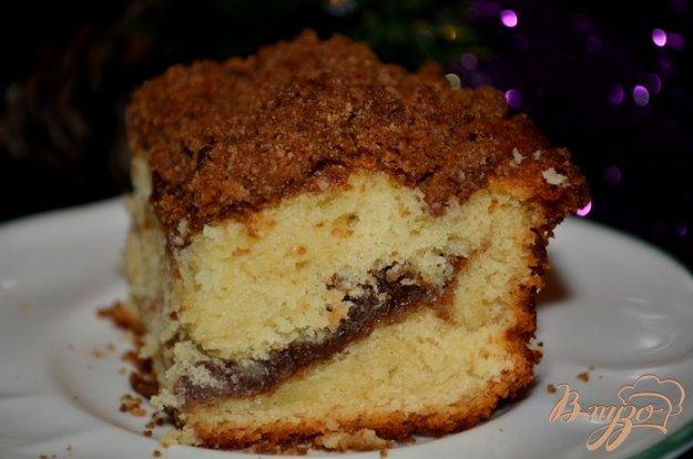 Рецепт Кекс со штрейзелем с корицей