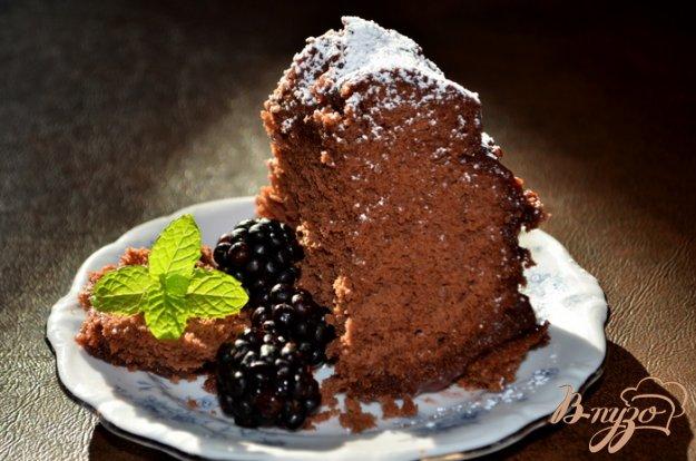 Рецепт Шоколадный винный кекс
