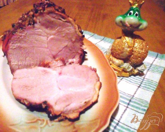 Рецепт Свинина с ореховой корочкой