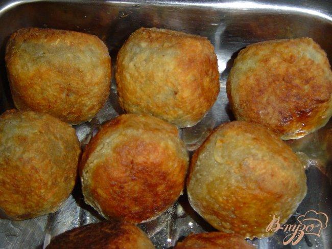 Фото приготовление рецепта: Колдуны с грибами шаг №8