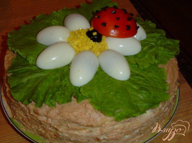 фото рецепта: Блинный тортик