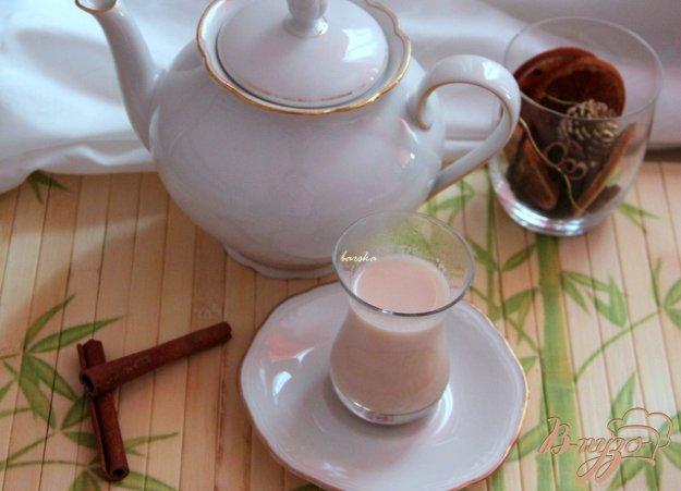 Рецепт Пряный зелёный чай