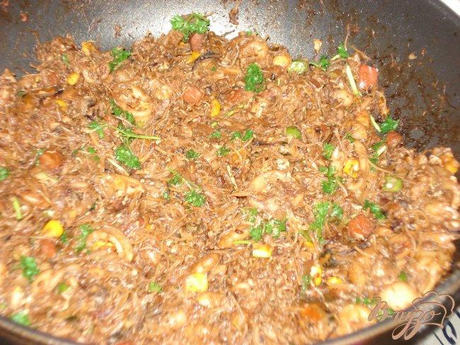 Фото приготовление рецепта: Ужин по-тайски от Олеси шаг №8