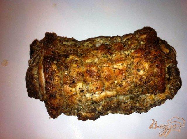 Фото приготовление рецепта: Запеченый бочек с черносливом. шаг №7