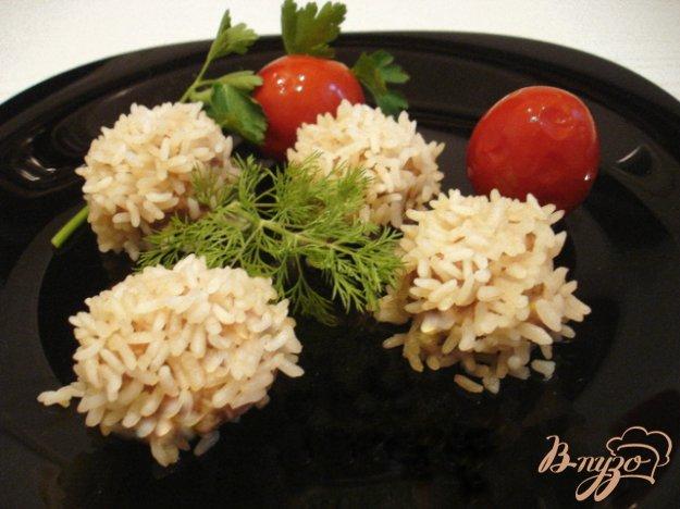 фото рецепта: Рисовые ёжики с мясом
