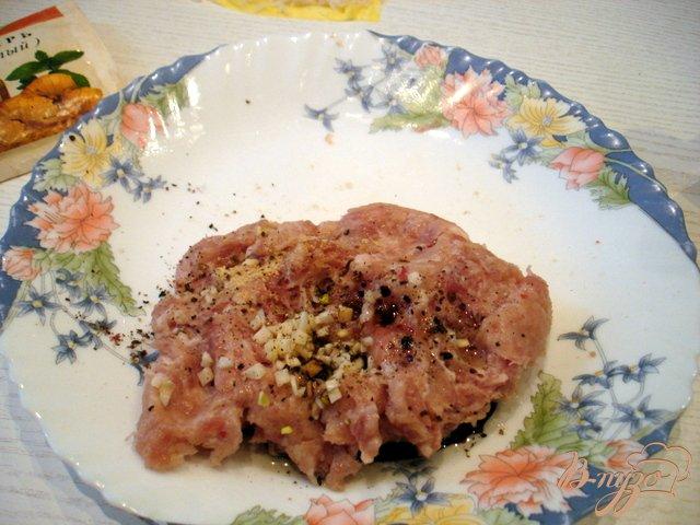 Фото приготовление рецепта: Рисовые ёжики с мясом шаг №3