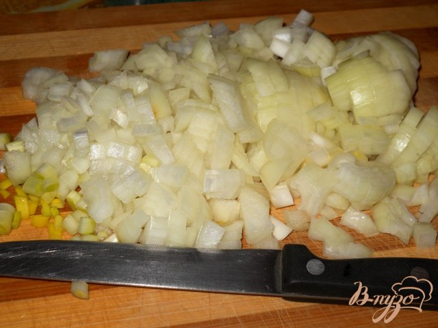 Фото приготовление рецепта: Каша из крупы с мясом и овощами шаг №1