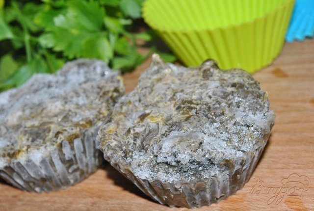 Фото приготовление рецепта: Щавель замороженный шаг №6