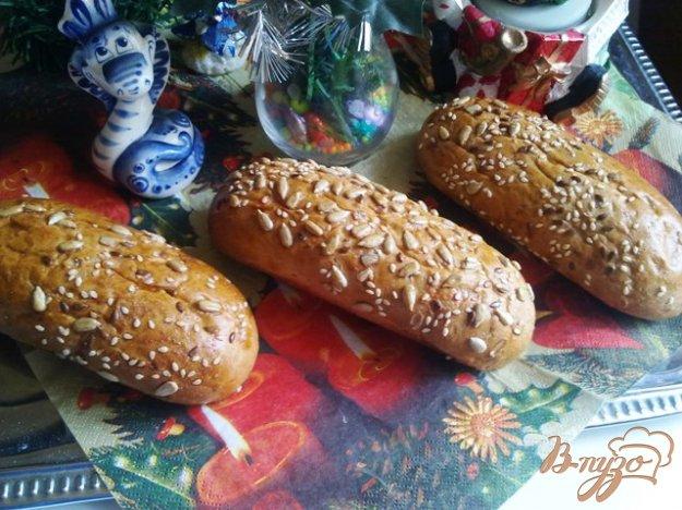 Рецепт Хлебные булочки с семечками.