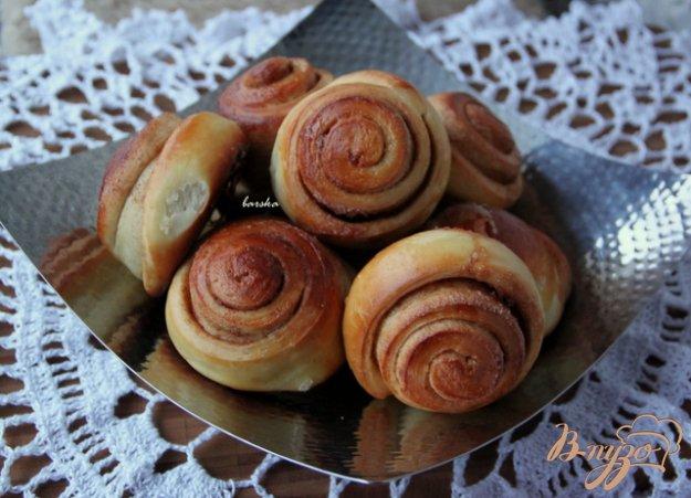 фото рецепта: Ароматные булочки с корицей