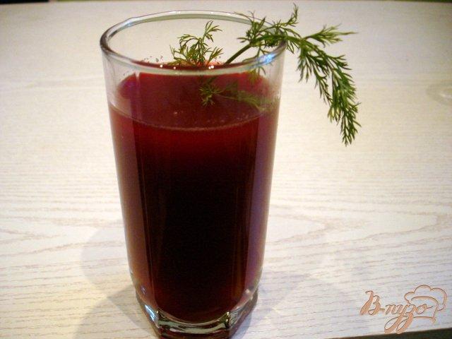 Фото приготовление рецепта: Свекольный напиток, очищающий организм шаг №7