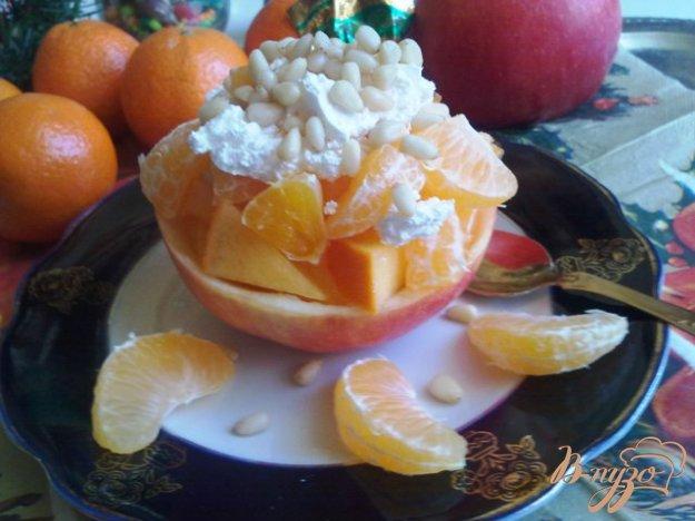 Рецепт Зимний, фруктовый десерт