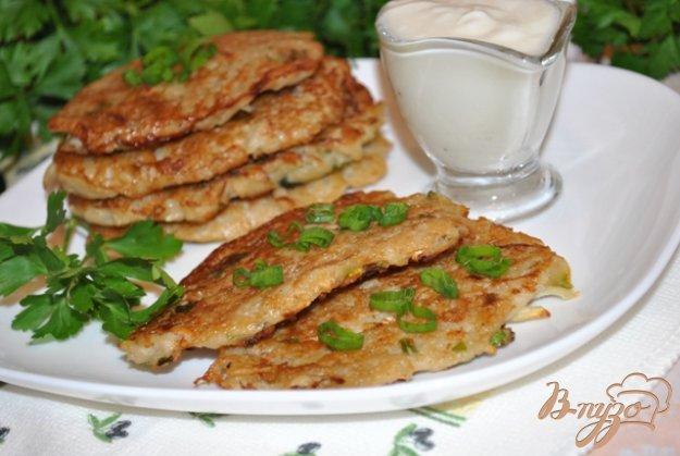 Рецепт Оладьи из картофеля с кольраби