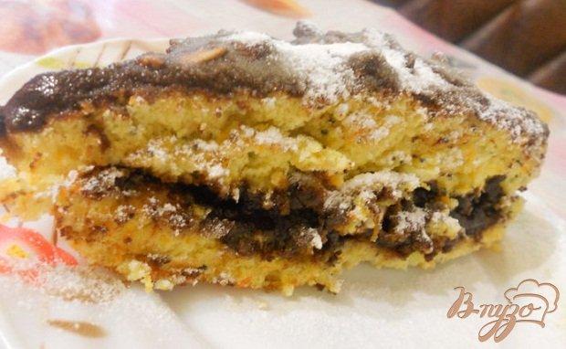 Фото приготовление рецепта: Морковно-лимонный пирог шаг №7