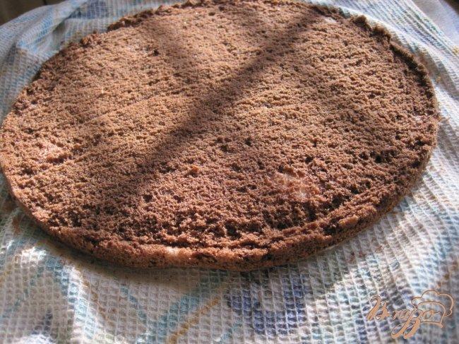 Фото приготовление рецепта: Грушево-шоколадный торт шаг №2