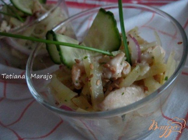Рецепт Картофельный салат с курятиной