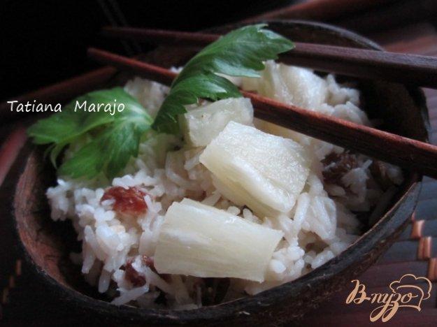 Рецепт Кокосовый рис с изюмом