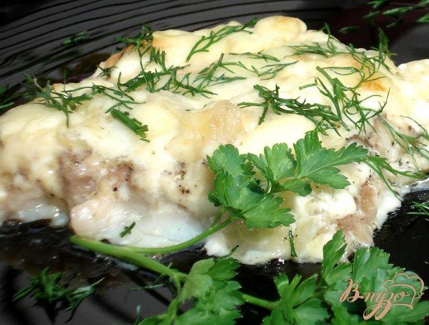 Рецепт Рыбное филе, запеченное под сыром