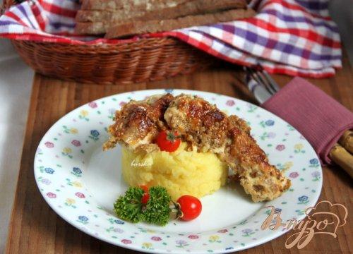 Куриное филе в кунжуте