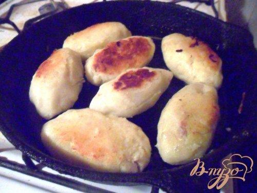 Картофельные зразы с куриным мясом