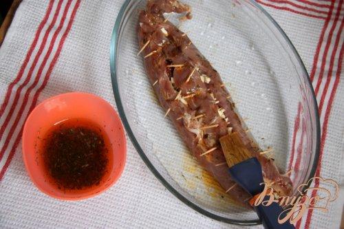 Нежнейшая вырезка, фаршированная вялеными томатами и фетой