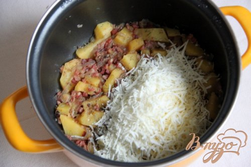 "Фрико с картофелем и луком - ""Frico con patate e cipolla"
