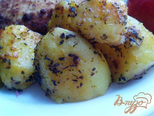 Запеченная, пряная картошка
